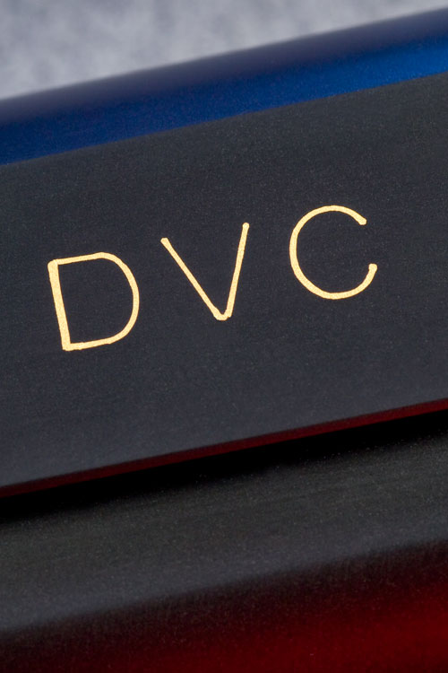 DVC gold inlay on Jeff Cooper slide