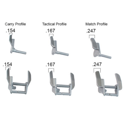 ambi safety lever profiles