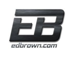 Ed Brown logo email signature texture