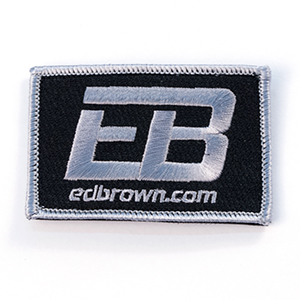 Ed Brown logo patch