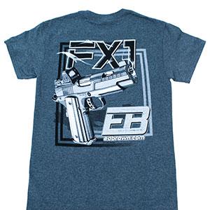 FX1 t-shirt back