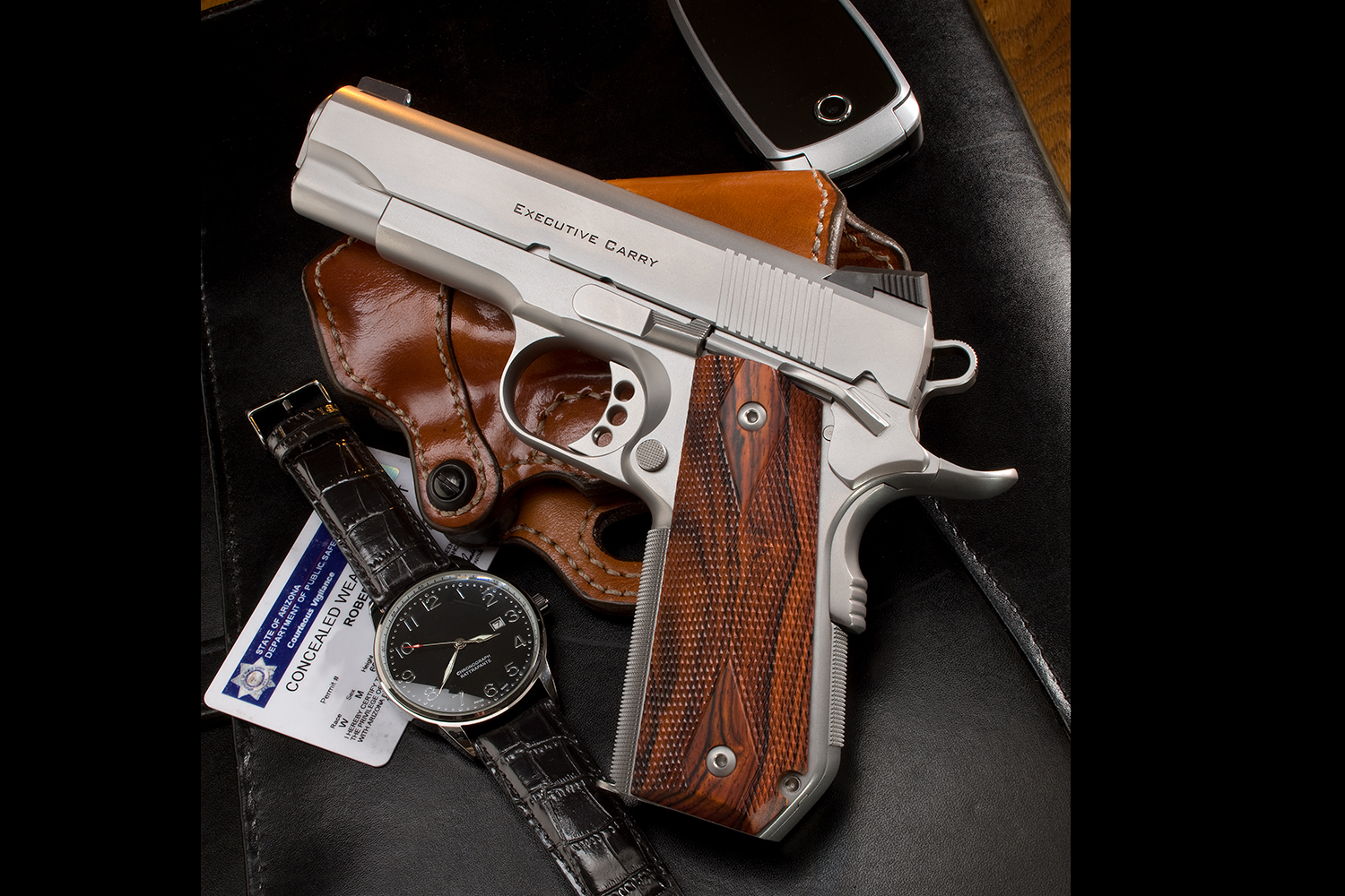stainless Executive Carry