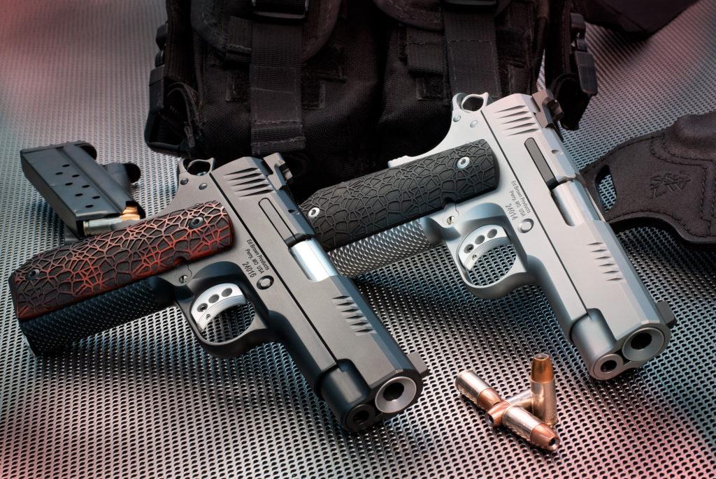 pair of Ed Brown EVO pistols