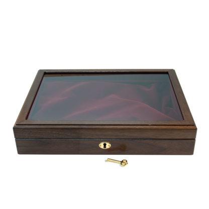 walnut presentation box