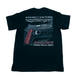 KC9 t-shirt back