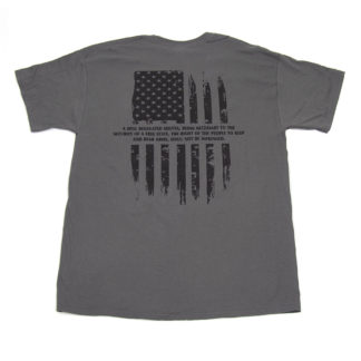 Ed Brown second amendment t-shirt back
