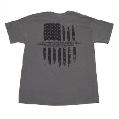 Ed Brown second amendment t-shirt back